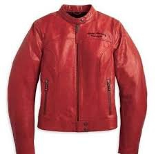 JACKET-AMBITION,LEATHER,RED