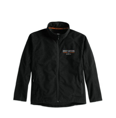 JACKET-DETOUR,FLEECE,BLK