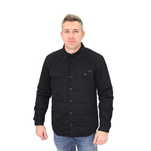 SHIRT JACKET-QUILTED,B/L