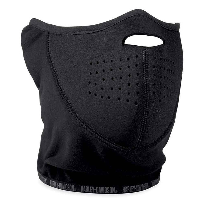 FACE MASK-WNDRST,NEOPRENE,BLK