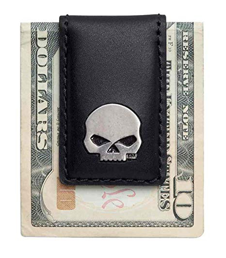 Skull Magnetic Money clip