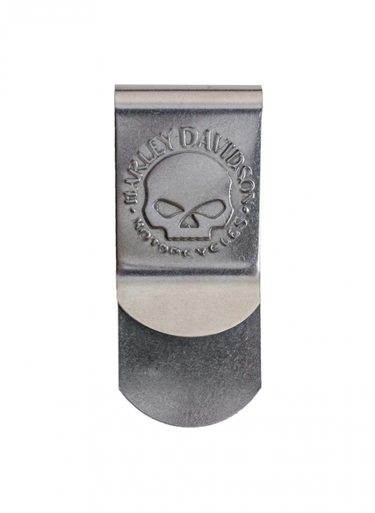 Skull Metal Money Clip